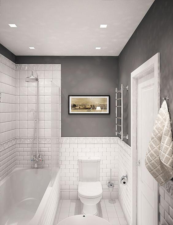 13 idee geniali per un piccolo bagno guarda queste foto e - Colore bagno piccolo ...