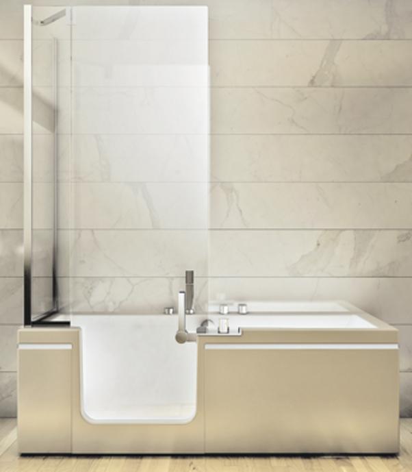 Oggi possibile avere un bagno piccolo con vasca da bagno - Bagno piccolo con doccia ...