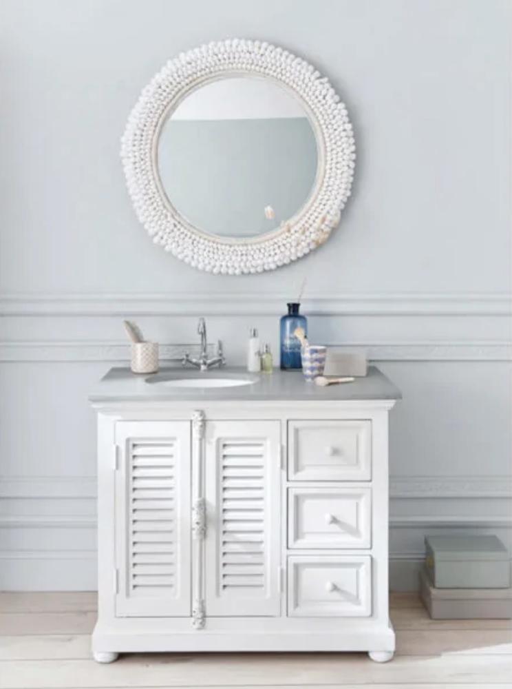 Arredare il bagno secondo lo stile shabby chic alcune idee da copiare subito - Caos accessori bagno ...