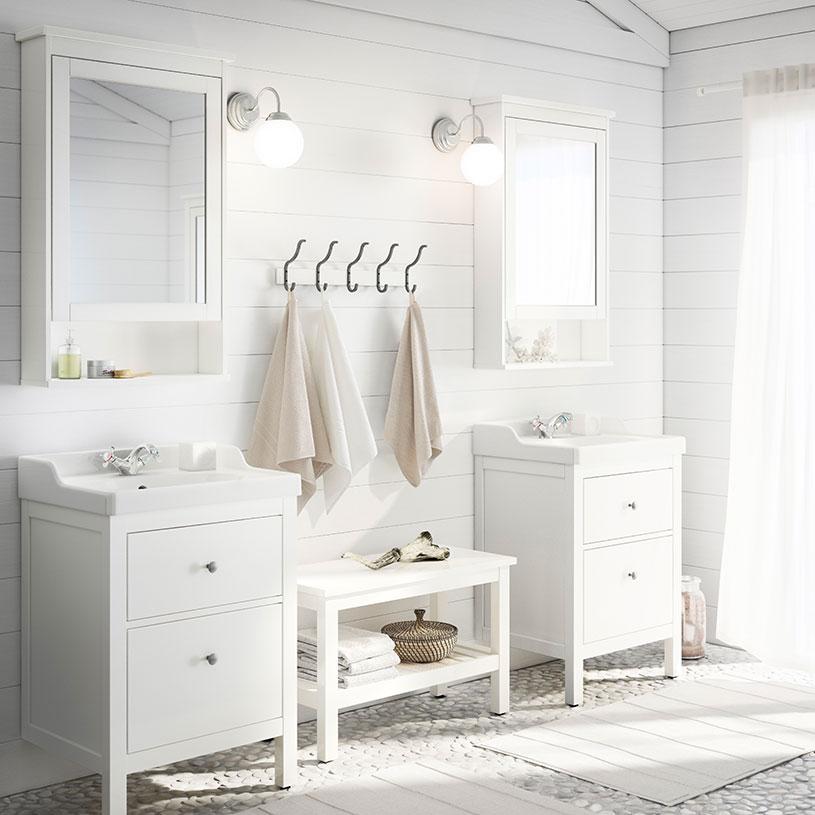 Idee shabby guardando i bagni Ikea: ecco cosa comprerei io e quanto ...