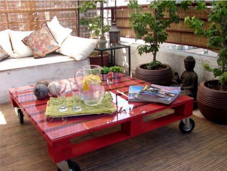 Favori Con i bancali l'arredamento in giardino sarà solo shabby KX85