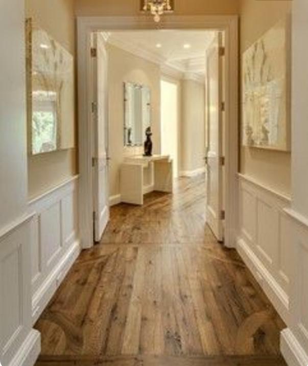 Scegli la boiserie in legno bianco per la tua casa in stile shabby - Bagno con boiserie ...