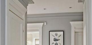 Boiserie legno bianco: con il grigio
