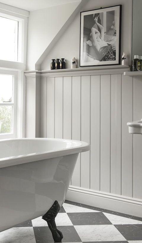 Famoso Boiserie in bagno di legno: perfetta nella zona della casa più umida UV01