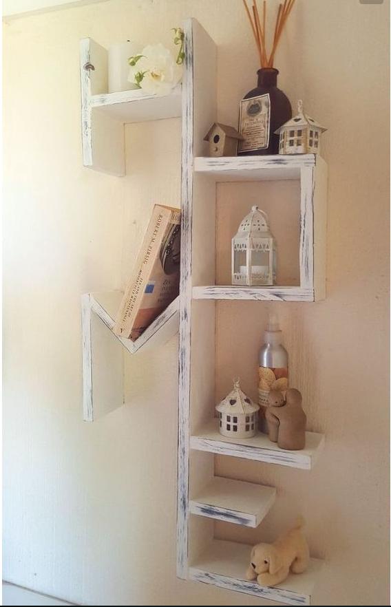 ecco le idee per il bricolage con il legno in stile shabby