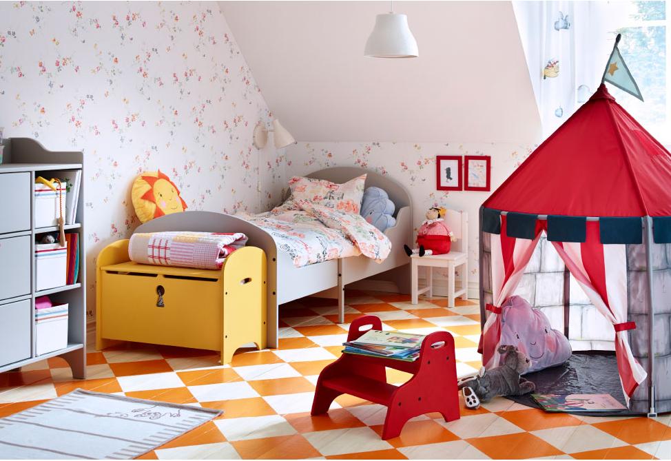 Le camerette per bambini ikea soddisfano le esigenze di - Accessori cameretta bambini ...