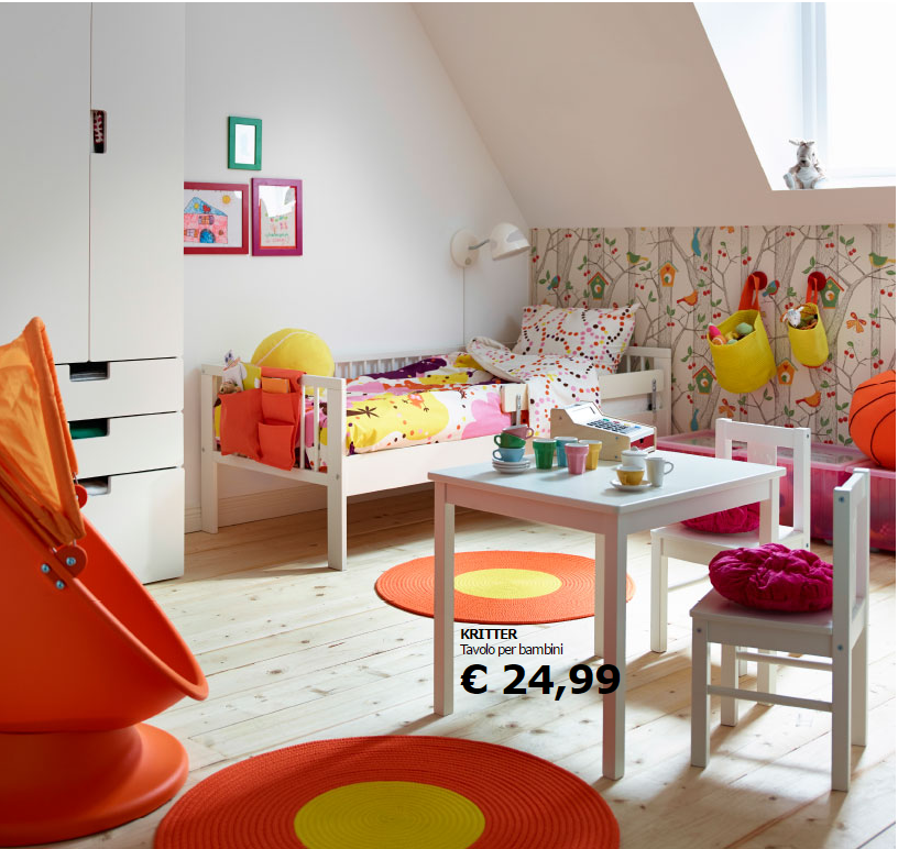 Le camerette per bambini ikea soddisfano le esigenze di - Camerette x ragazzi ikea ...