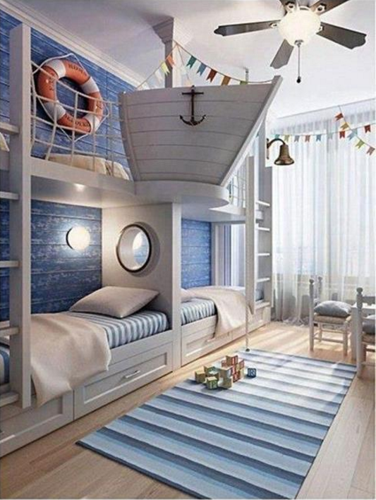 Guarda le pi belle camerette particolari per bambini for Camerette particolari per bambini
