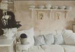 casa maura divano bianco