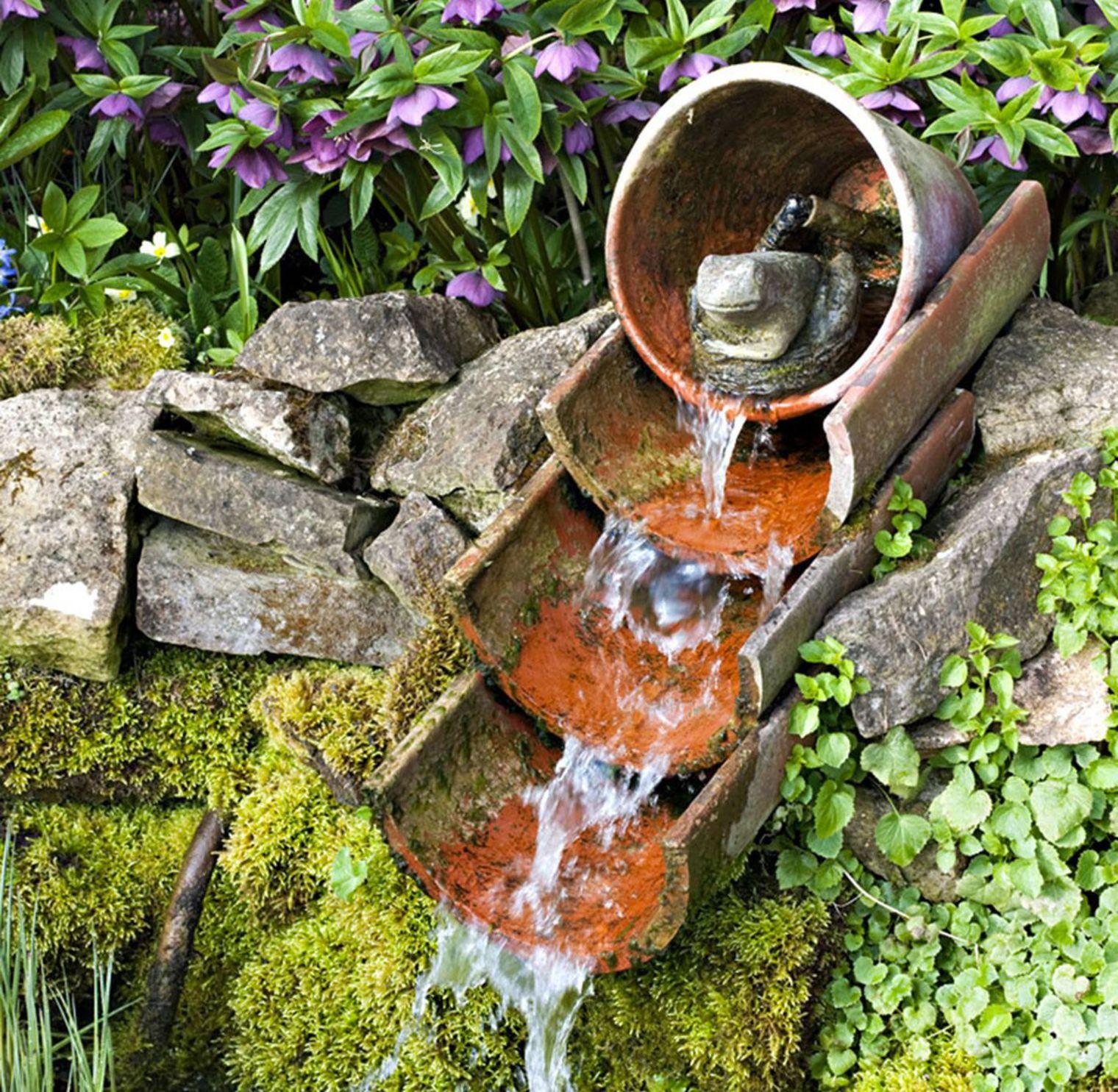 10 idee shabby originali per decorare il giardino senza - Oggetti per giardino ...