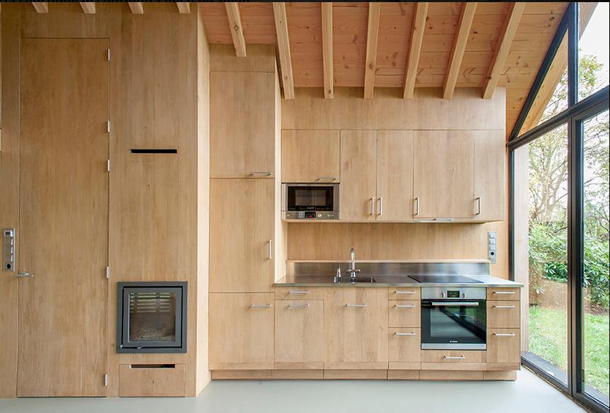 abbastanza Esistono eccome le case in legno moderne e sono incantevoli BZ11