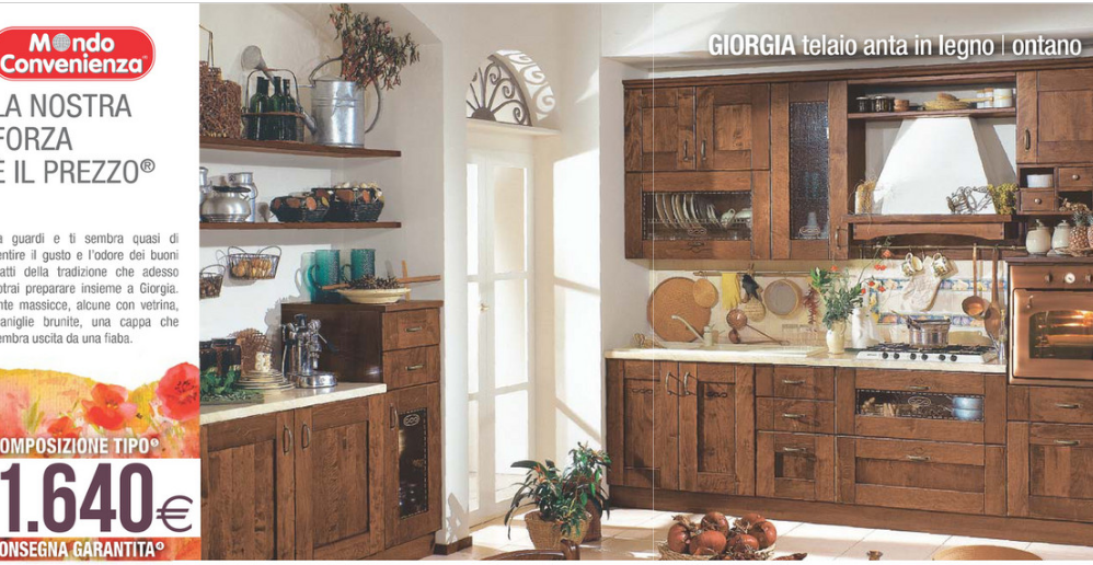 Catalogo mondo convenienza cucina giorgia with cucina for Arredamenti mondo convenienza catalogo