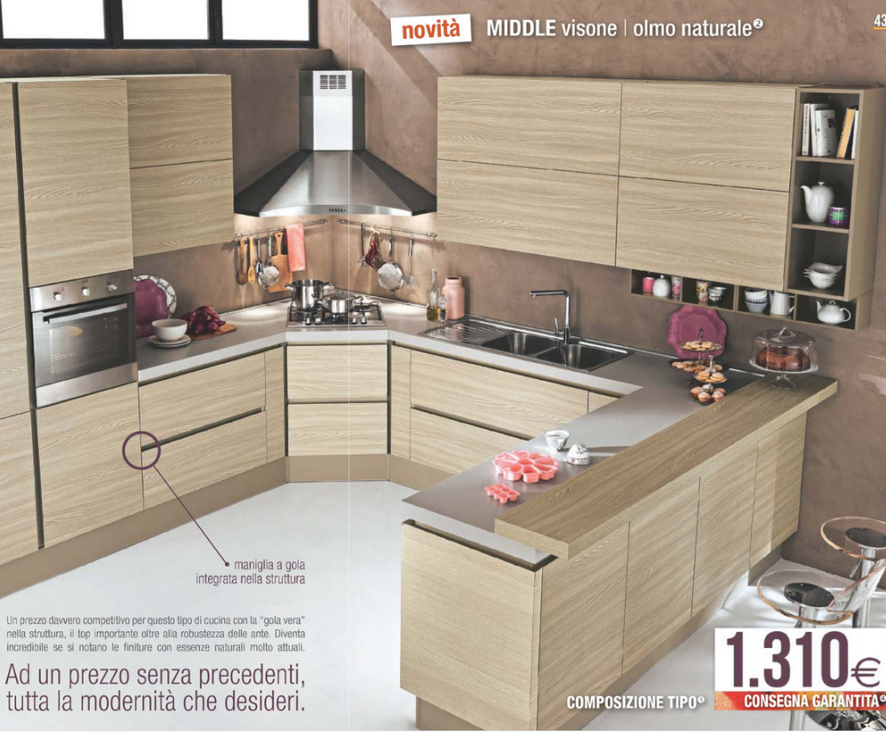 Stunning Mondo Convenienza Cucine Catalogo Images - Ideas & Design ...