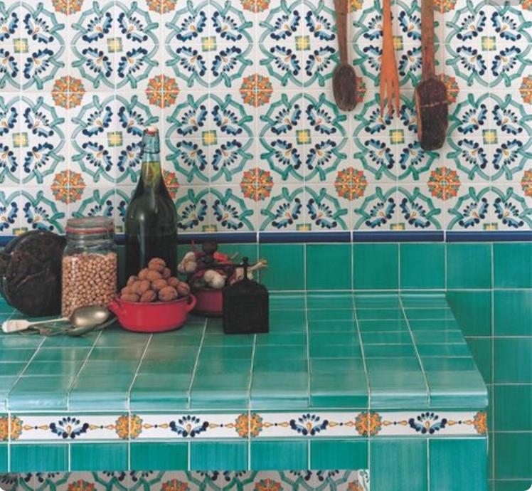 Scegli le piastrelle di Vietri in cucina