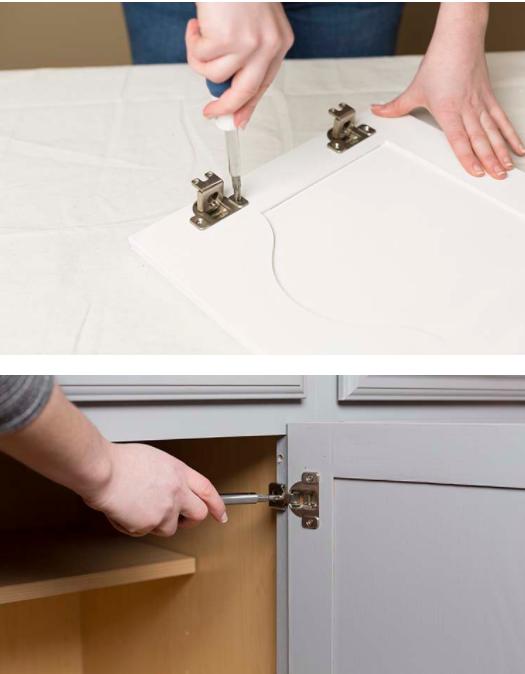 Cucina prima e dopo come trasformare solo con la vernice foto - Vernice per ante cucina ...