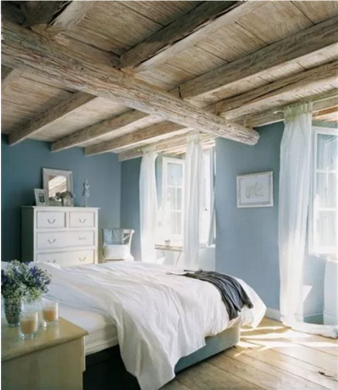 Come scegliere per una casa country i colori sulle pareti