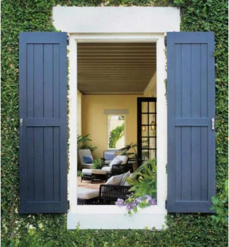 Come scegliere per una casa country i colori sulle pareti for Pareti casa