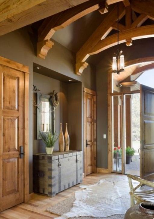 Come scegliere per una casa country i colori sulle pareti for Idee colori pareti ingresso