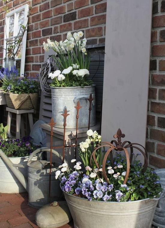 Un giardino da sogno in stile shabby chic - Shabby chic giardino ...