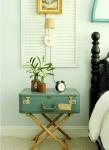 come arredare una casa vintage comodino