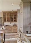 come arredare una cucina country legno