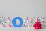 come decorare le lettere di legno sesto step