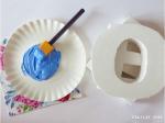come decorare le lettere di legno terzo step