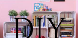 Come realizzare una libreria con le cassette della frutta