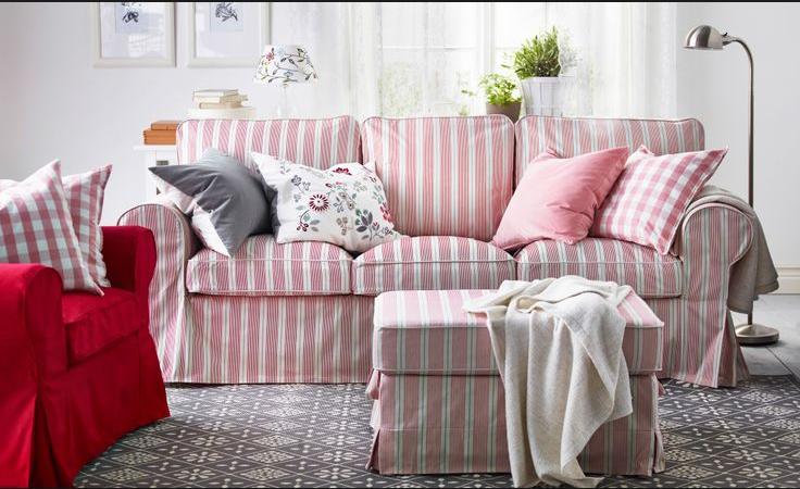 Divani Shabby Chic Ikea : La scelta è infinita per il copridivano ikea a tre posti