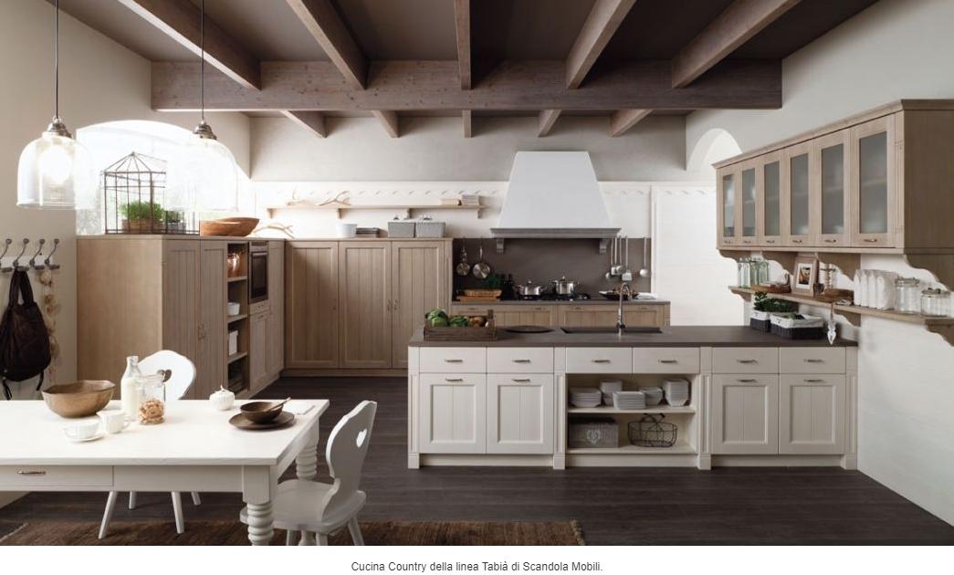 Scandoli mobili presenta la collezione delle cucine 2017 - Verniciare mobili cucina ...