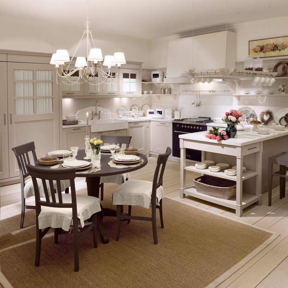 Le cucine Minacciolo in stile shabby (foto)