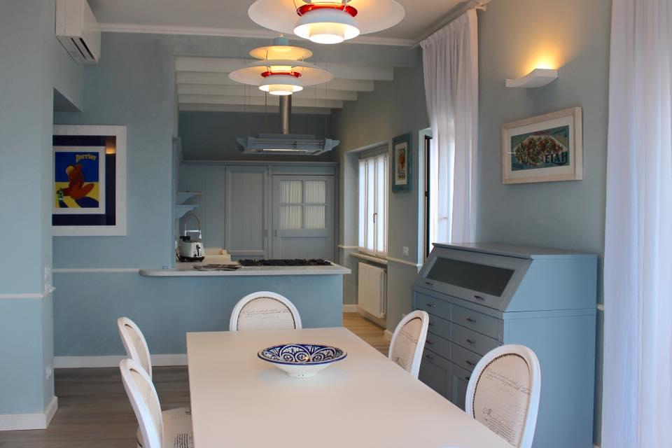 Le cucine minacciolo in stile shabby foto for Cucina azzurra