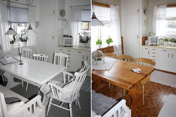 Questa la casa di linda prima e dopo i lavori shabby - Lavori in casa prima del rogito ...