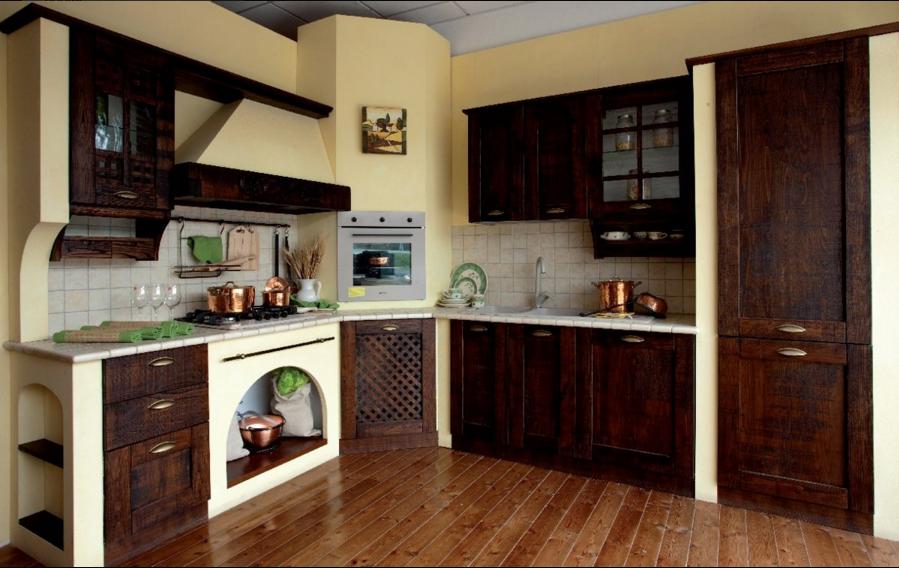 Comida Arredamenti: ti presenta la sua linea di cucine rustiche