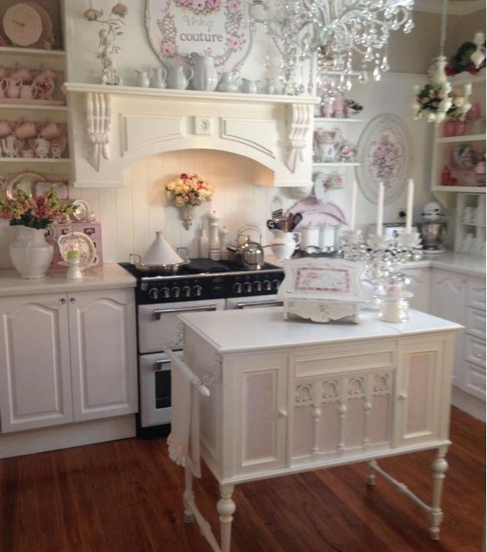 Latest cucina shabby chic romantica with shabby chic cucine - Cucine shabby chic ...