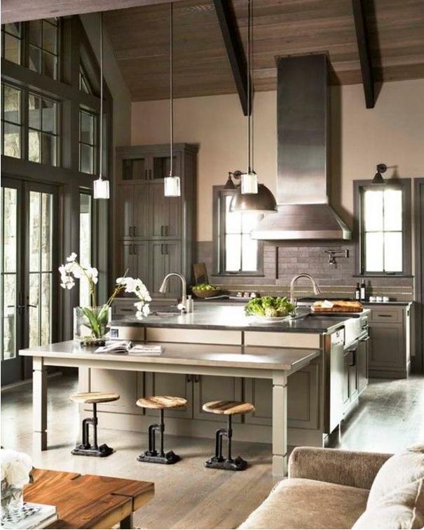 Arreda la tua casa con le cucine stile industrial chic