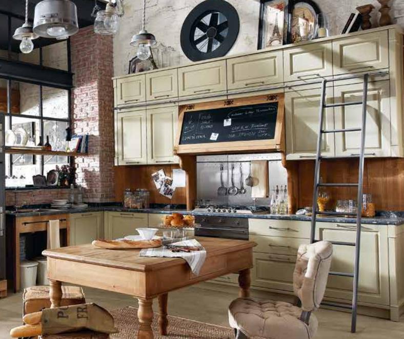 L 39 azienda marchi cucine festeggia i 40 anni di attivit - Cucine old style ...