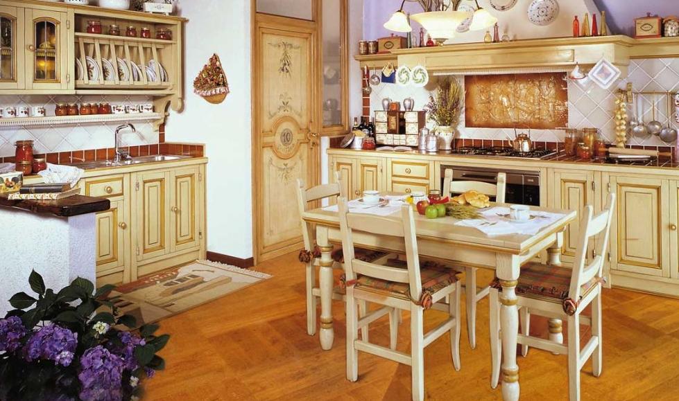 cucine rustiche su misura del'azienda fonte del rsutico - Aziende Cucine