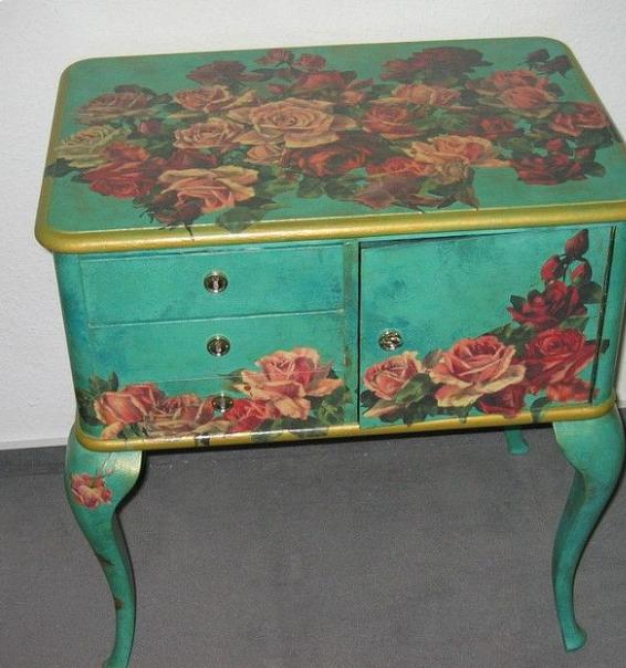 abbastanza Per il decoupage sui mobili in legno scegli colori brillanti EX61