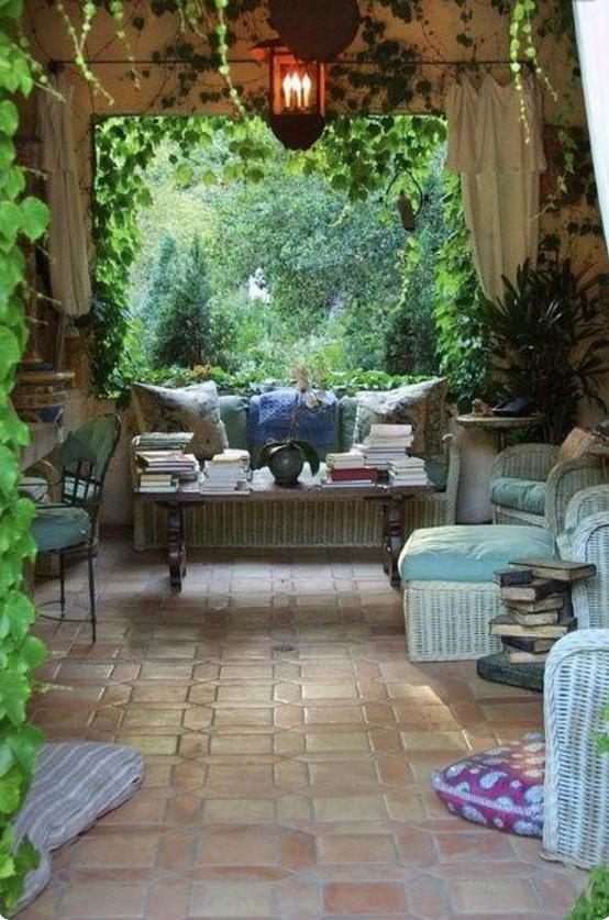 Quando il design per terrazzi e giardini si sposa con lo shabby - Terrazzi di design ...