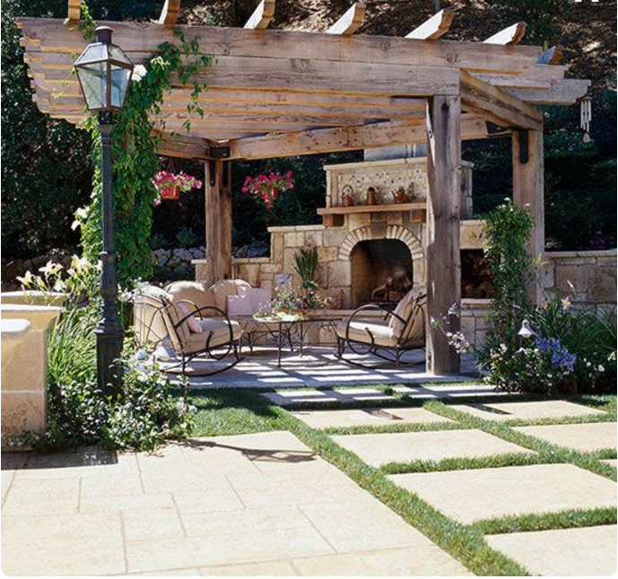 Quando il design per terrazzi e giardini si sposa con lo shabby