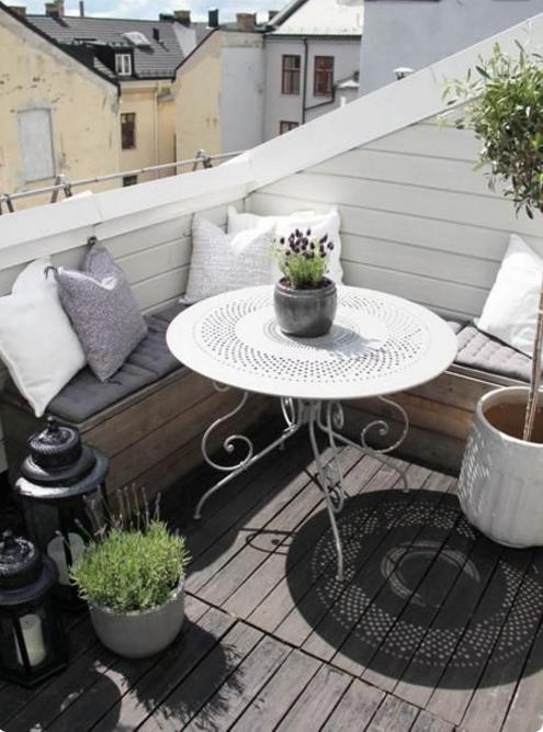 Scegli come arredo il design per il terrazzo foto for Arredamento per terrazzo piccolo
