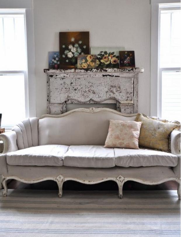 I divani color tortora sono meravigliosamente shabby chic for Divano color tortora