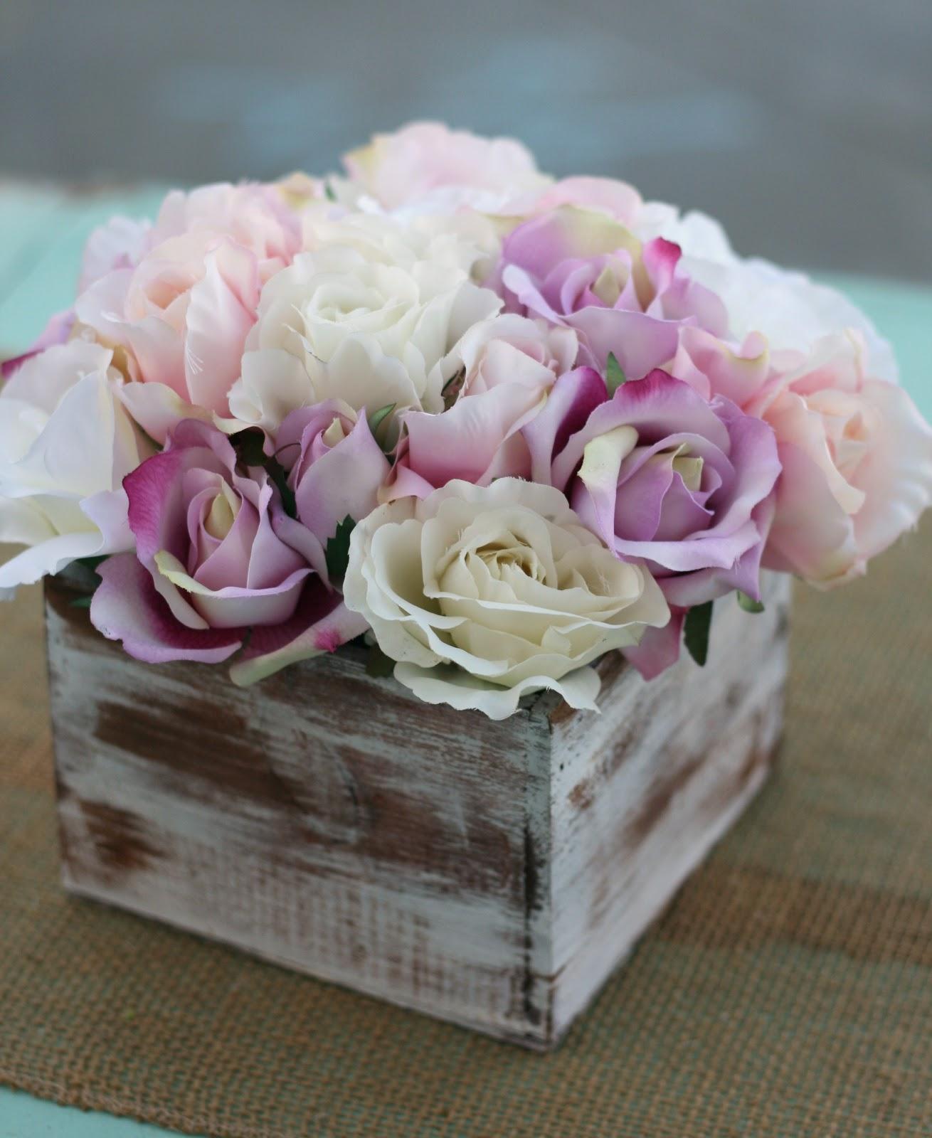 Decorazioni floreali shabby chic per la casa foto for Decorazioni casa online