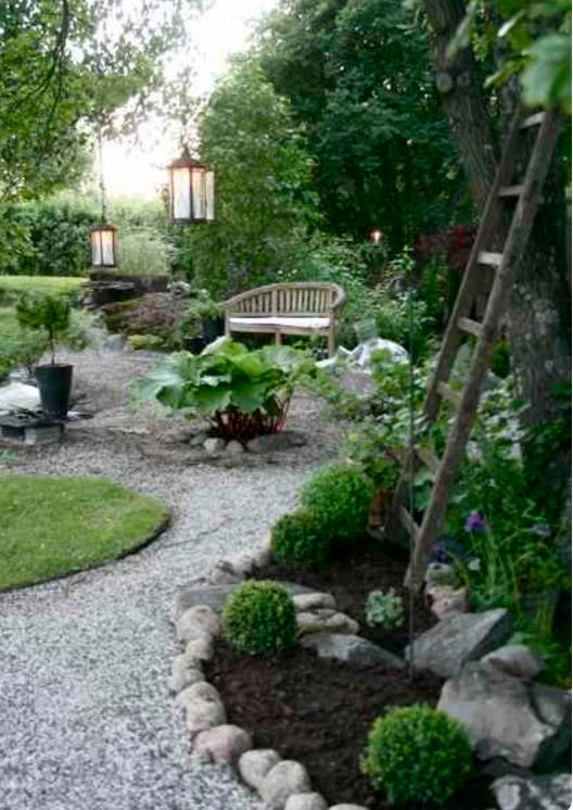 Nei giardini rocciosi le piante grasse ed i fiori regnano sovrani - Giardini con pietre bianche ...
