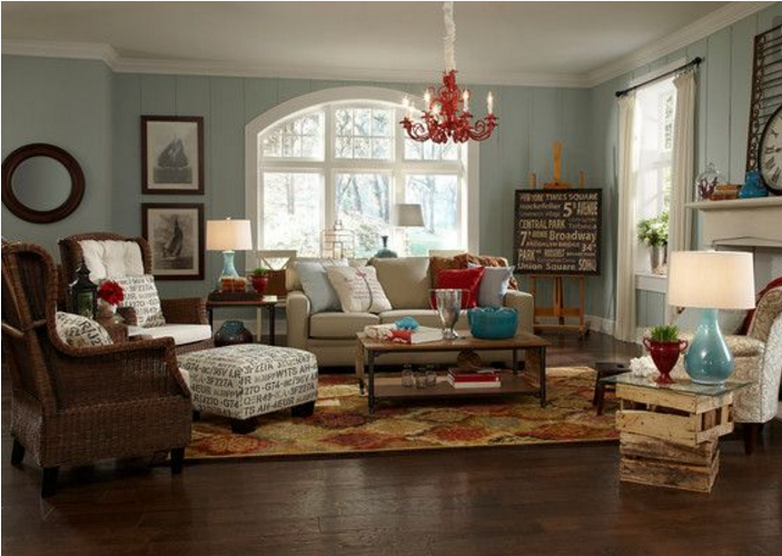 Idee per la tinteggiatura delle pareti interne di casa for Immagini per pareti interne