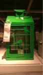 Lanterna Ikea verde