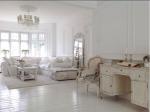 living room white specchio