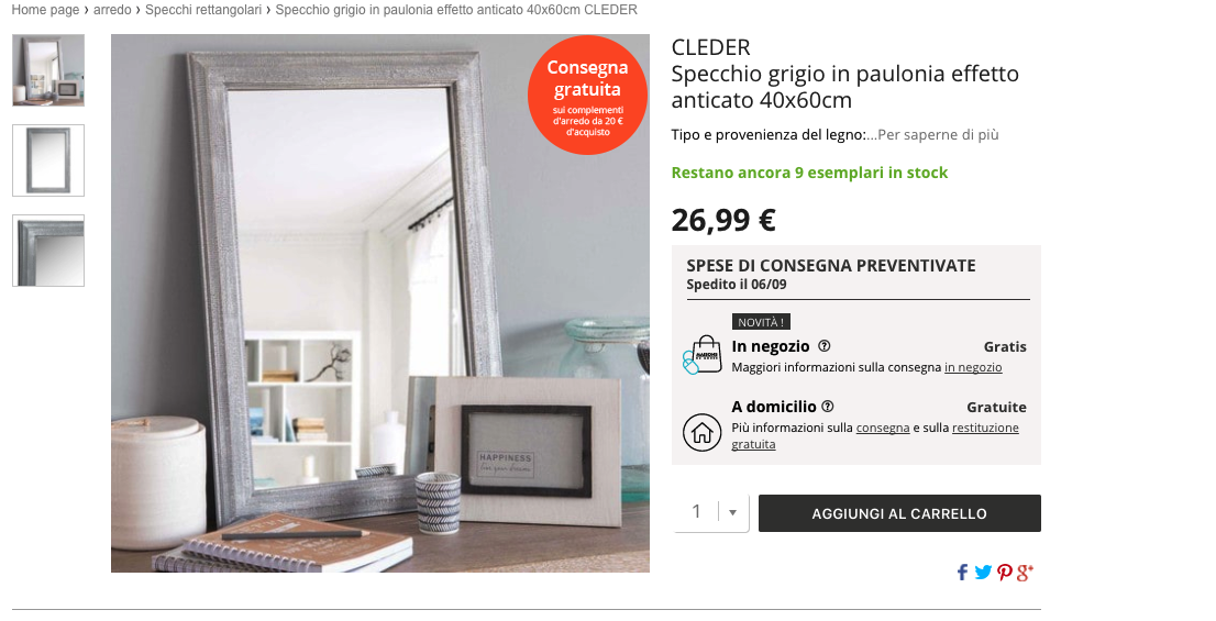 Maison du monde specchi cerco specchio foglia argento for Miroir fenetre casa