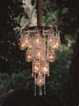 Matrimonio shabby chic chandelier